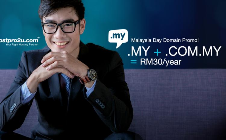 Malaysia Day Domain Promo