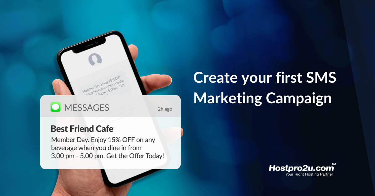 Create your first SMS Marketing Campaign