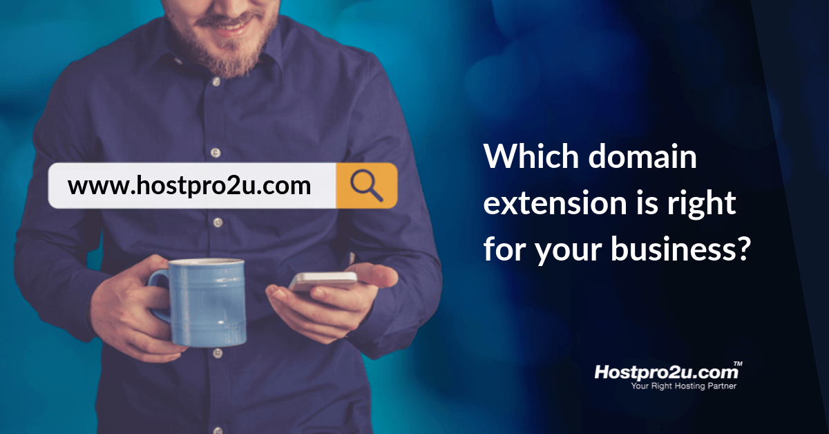 Which domain extension is right for your business