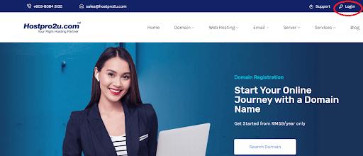 hostpro2u web hosting